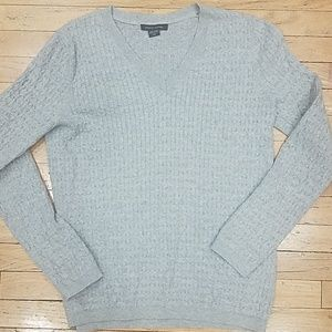 Lightweight cable knit sweater